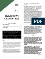 Civil law Cases