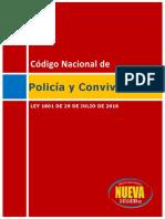 Ley 1801 código nacional de policía