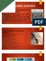 La Reforma Agrariatsghgfgf