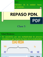 22. Repaso PDN