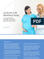 OB-GYN Workload and Potential Shortages 2018