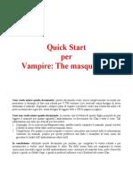 Quick Start Per Vampire