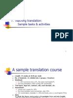 7 Teaching Translation Sample Tasks Amp Activities