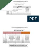 Mesas FEB MAR 2019 FonoaudiologíaL NAVARRO
