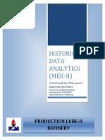 Historical Data Report