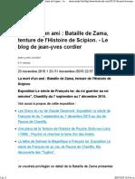 Bataille de Zama, Fin de La Deuxieme Guerre Punique