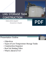 LNG Storage Tank Construction