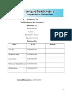 Assignment on.strategic Management