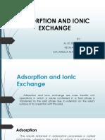 Adsorption and Ionic Exchange