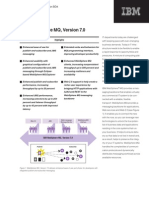WebSphere MQ V7 Data Sheet