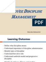 Employee Discipline Management