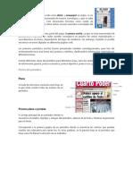 Partes Del Periodico y Periodicos Murales