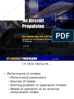 NPTEL Ppt on Sub and Supersonic Inlets