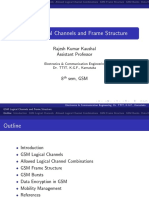 GSM Logical Channels and Frame Structure