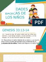 NECESIDADES BÁSICAS DE LOS NIÑOS II