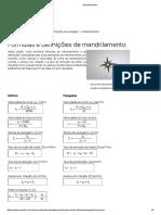 Cálculo Mandrilamento
