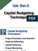 SS 5 CF CapitalBudgeting
