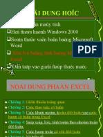 Bai Giang Excelppt