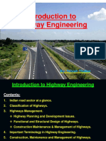 Introduction to Highway Engineer i g