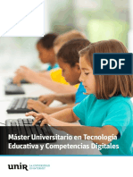 M-O-Tecnologia Educativa Competencias Digitales Esp