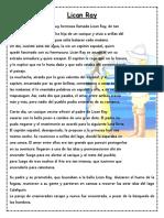 Guía La Leyenda Lican Ray