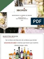 2018 Bienvenidos Al Mundo de Monin -Sp-1