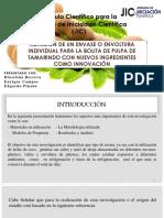Adhesión de Un Envase o Envoltura Individual Para La Bolita de Pulpa de Tamarindo Con Nuevos Ingredientes Como Innovación