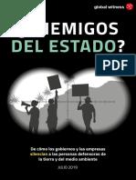 Enemigos Del Estado Global Witness
