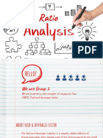 Fmcg Ratio Analysis