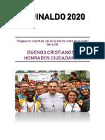 AGUINALDO RM 2020 Buenos Cristianos y Honrados Ciudadanos