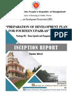 Inception Report - Development Plan