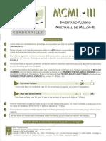 Inventario Multiaxial Clínico de Millon III - Cuadernillo