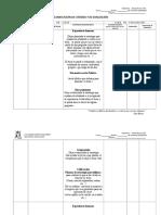 Planificación de Cátedra y de Evaluación. Educ de La Fe