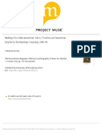 Making Chocolate American Labor, Tourism, And American Empire in the Hershey Company, 1903-85