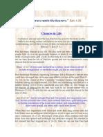 17. c7 Chances in Life