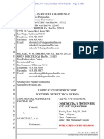 19-06-12 Continental Antisuit Injunction Motion Against Nokia
