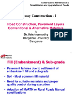 4.1Highway Construction I Dr.krishnamurthy
