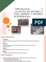 Introduccion Mineria Subterranea y Superficial