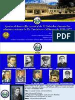 Gobernantes de El Salvador.2019.Em