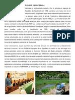 Legislación Ambiental Aplicable en Guatemala