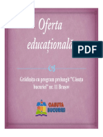 ofera educationala