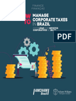 How to Manage Corporate Taxes in Brazil