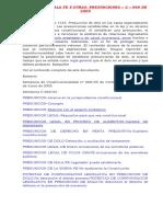 El Dolo, La Mala Fe y Otros - Presunciones Legales c. 669-2005