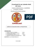 MONOGRAFRIA DE MATEMÁTICA INTRODUCIDA AL TURISMO