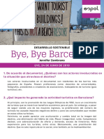 Bye, Bye Barcelona