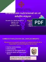 VALORACIÓN NUTRICIONAL ANCIANOS