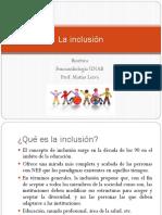 5. La Inclusión