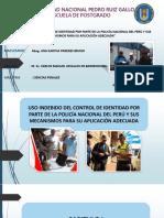 Diapositivas Uso Indebido Del Control de Identidad Por Parte de La Policía Nacional Del Perú (1)