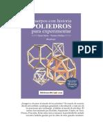 Poliedros Vol1 Tapa Índice Presentación Contratapa