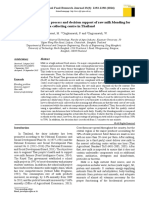 The Study of Business Process and Decision Support of Raw Milk Blending